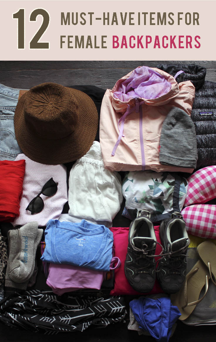 12 Backpacking Must-Haves for Female Backpackers |