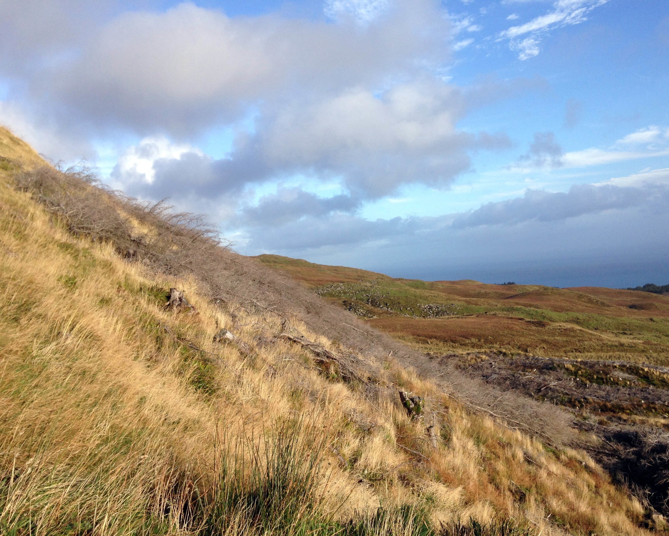 Thew views on my epic trek though in the Isle of Skye, Scotland