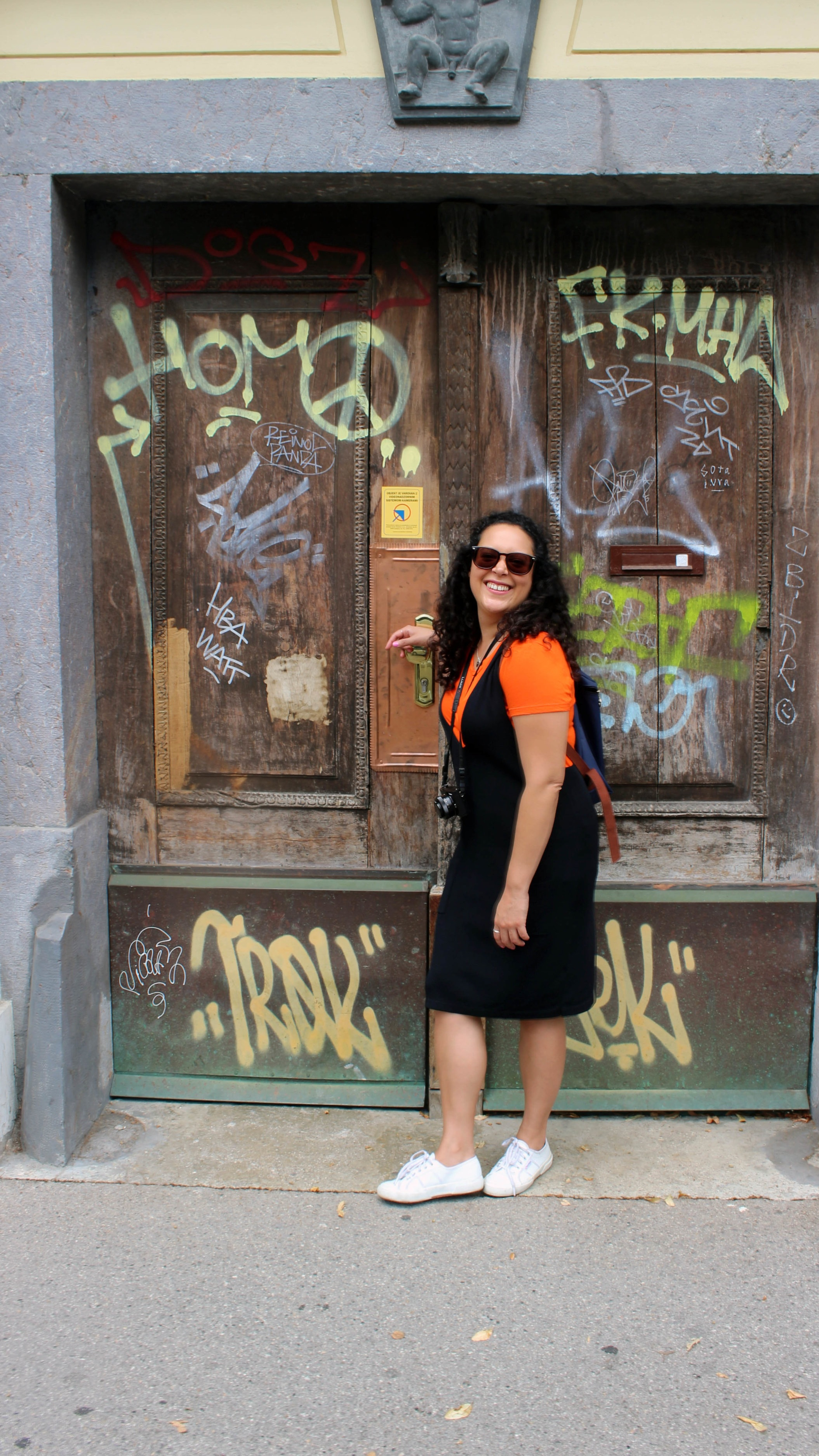 Smiling my way through Ljubljana, Slovenia, a less popular destination but one of my favourite cities in Europe