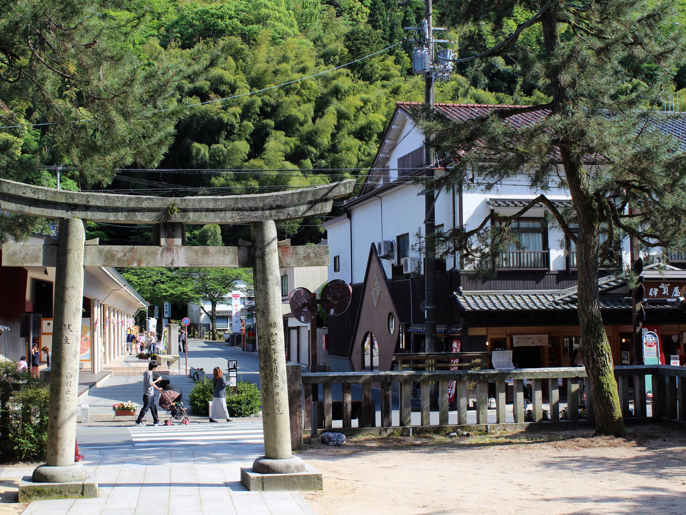 The streets of Kinosaki, Japan