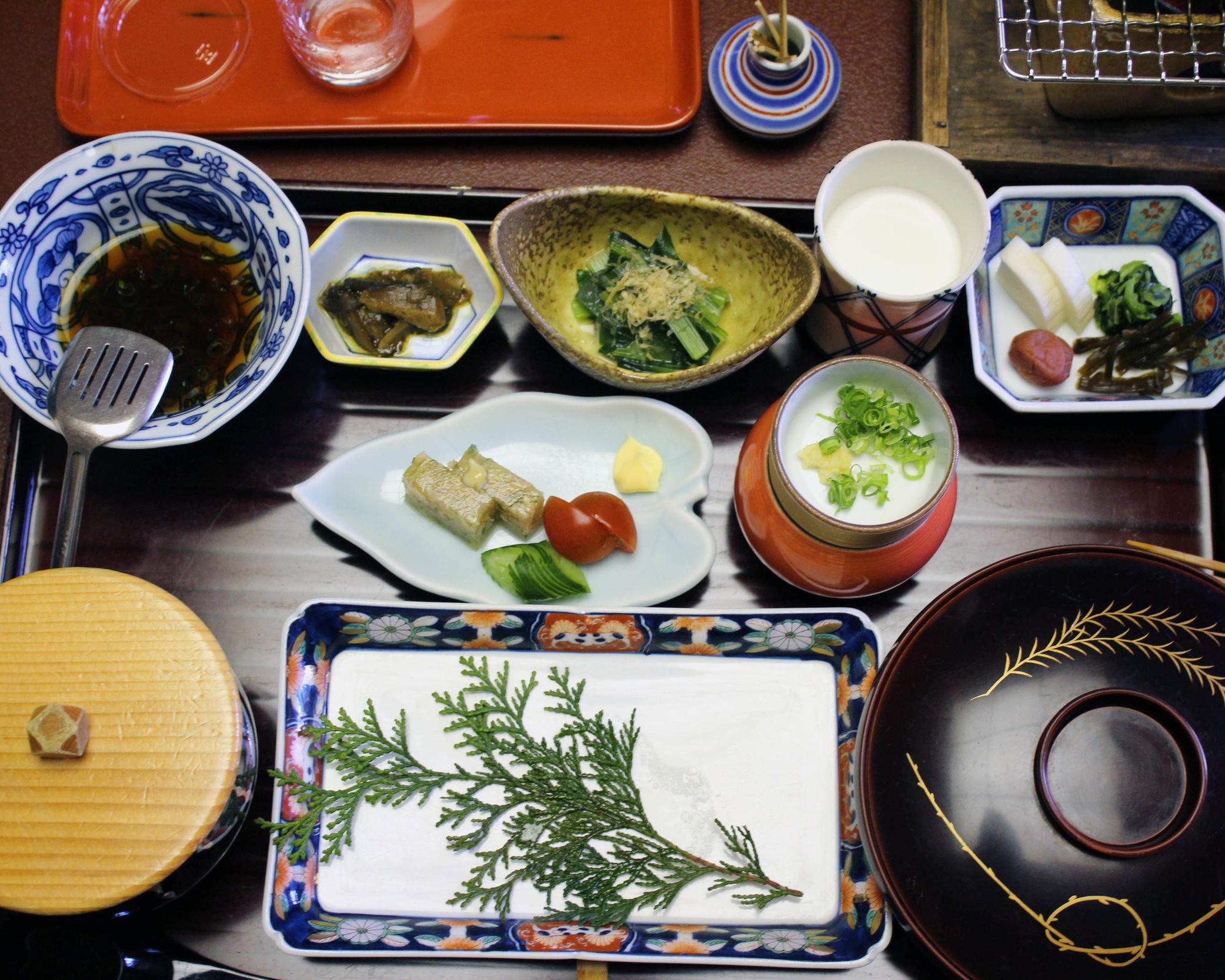 My kaiseki-style dinner