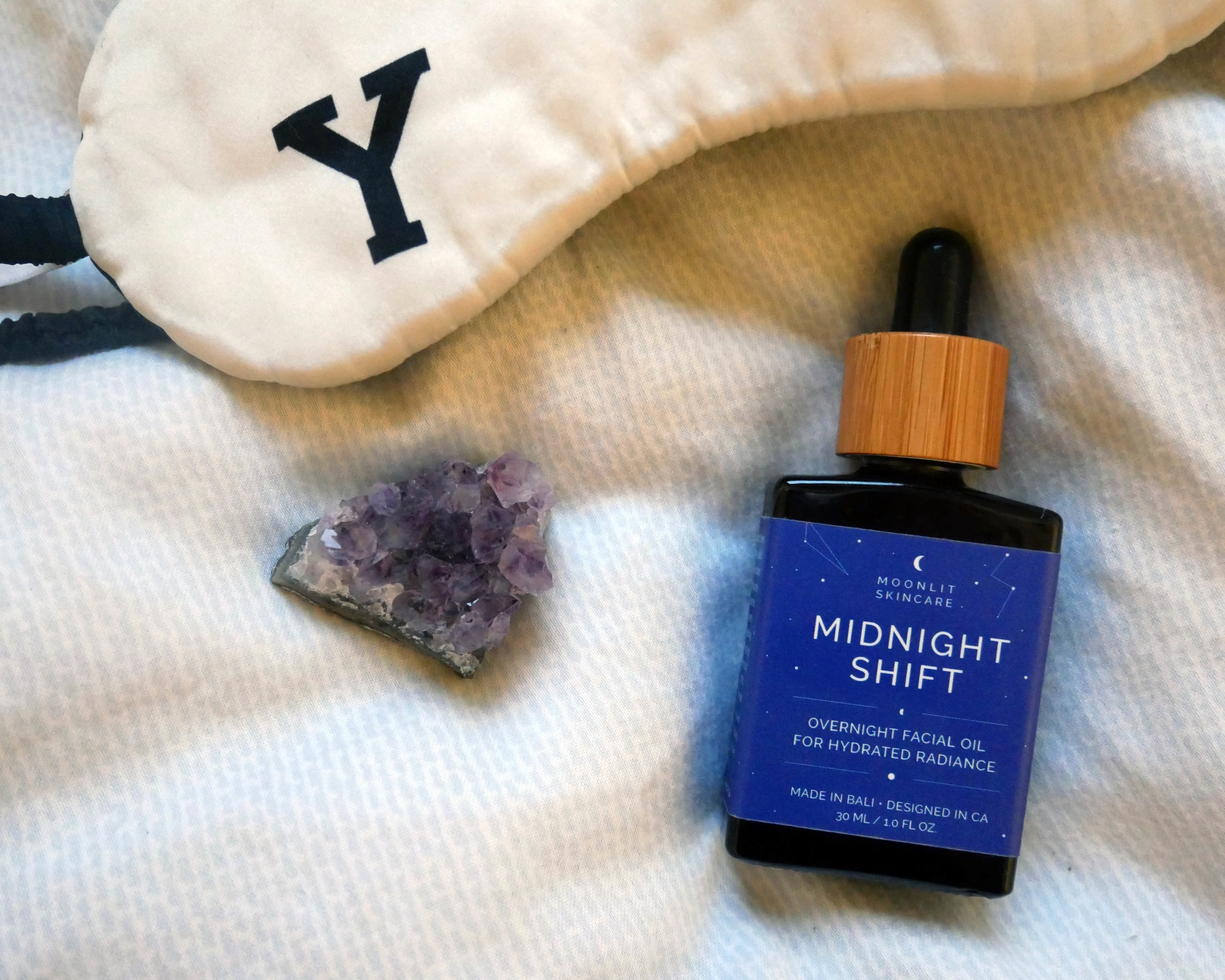 moonlit skincare los angeles beauty brand night-time facial oil