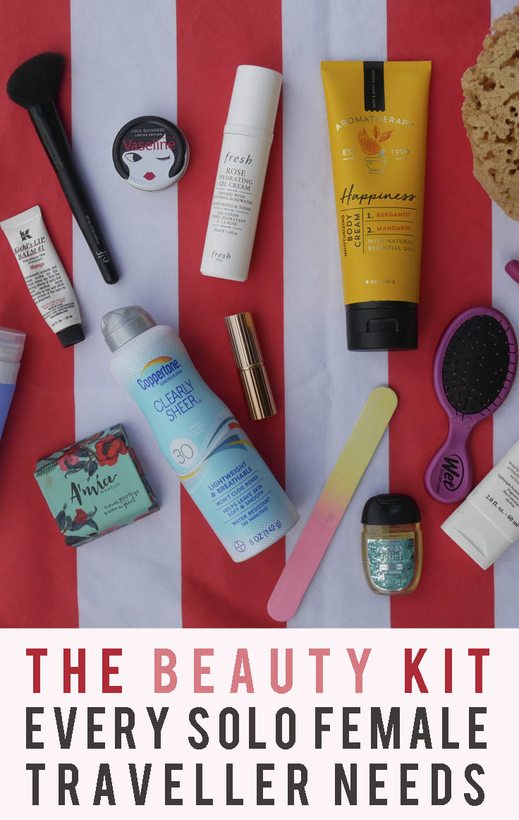 The Beauty Kit Every Solo Female Traveller Needs