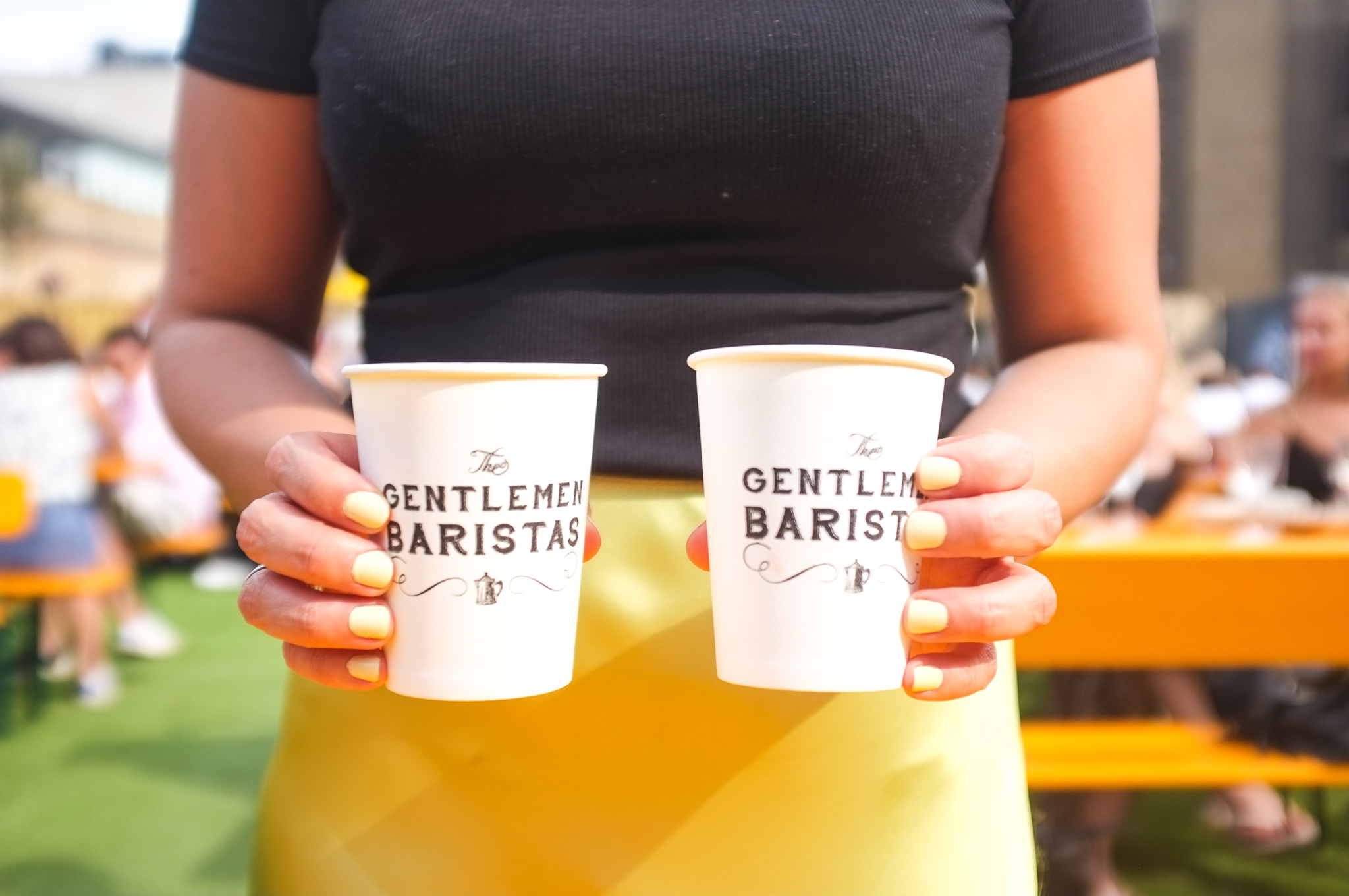 Our stylish drinks from Gentlemen Baristas