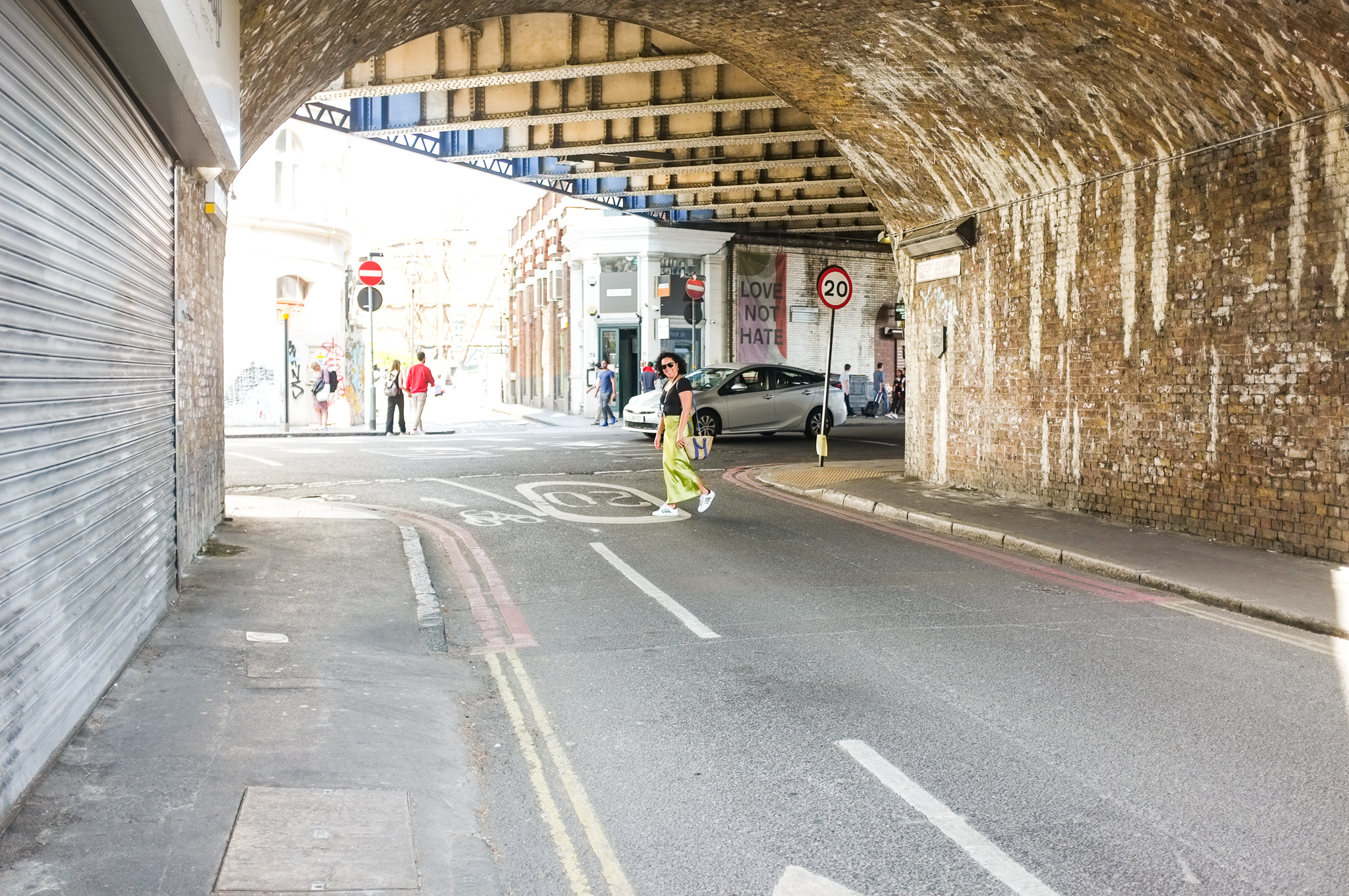 The colourful alleys of London Bridge