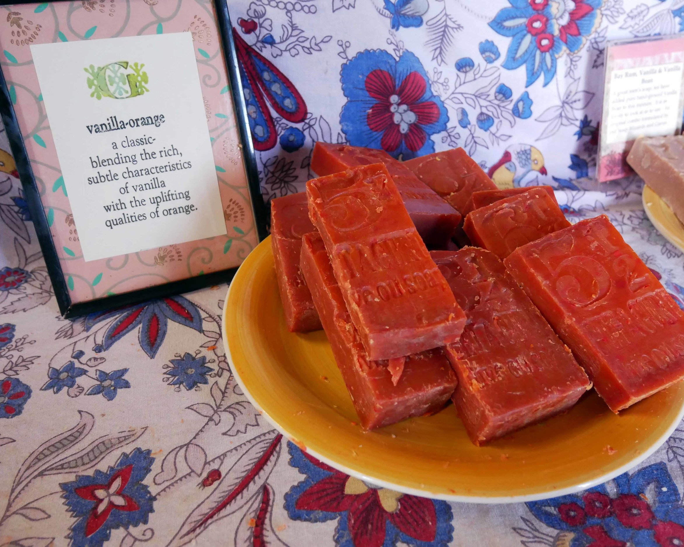 Gorgeous homemade soaps at GetaGuru, my favourite shop in Tarpon Springs