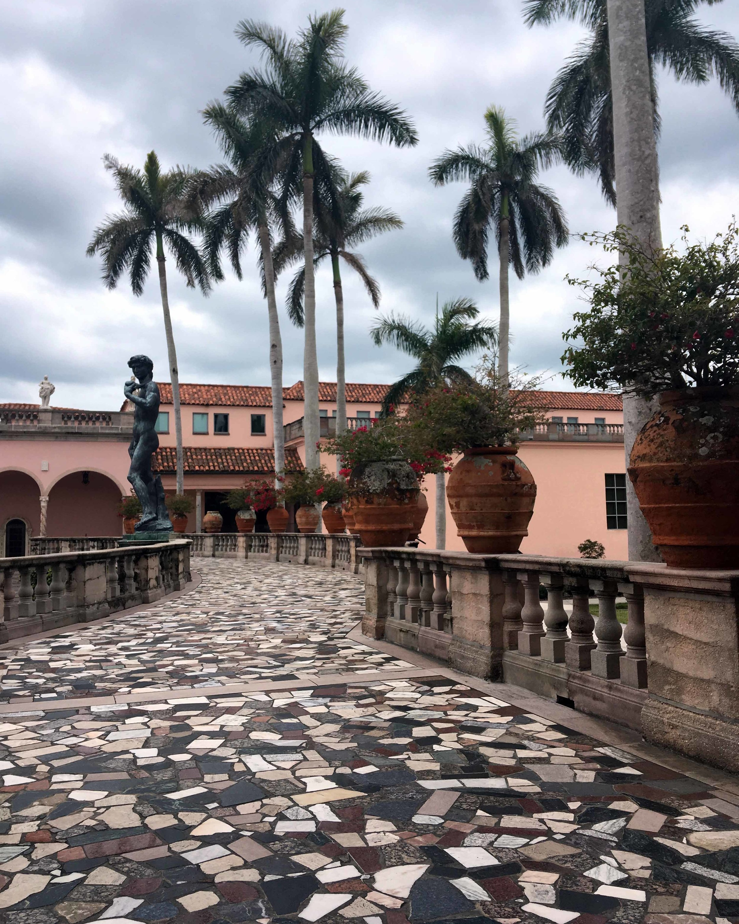 The stunning architecture at the Ringling Museum