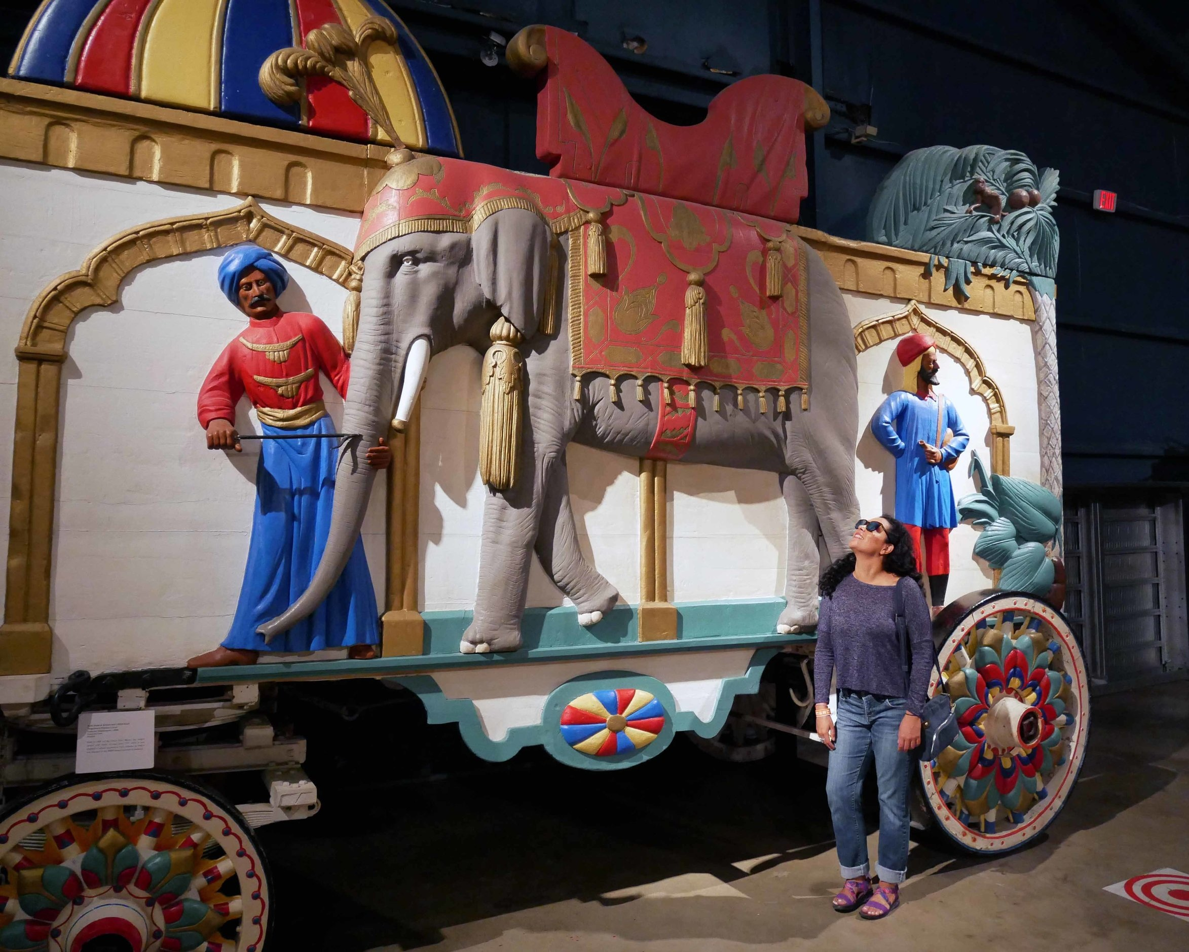 Touring the Circus Museum at Ringling