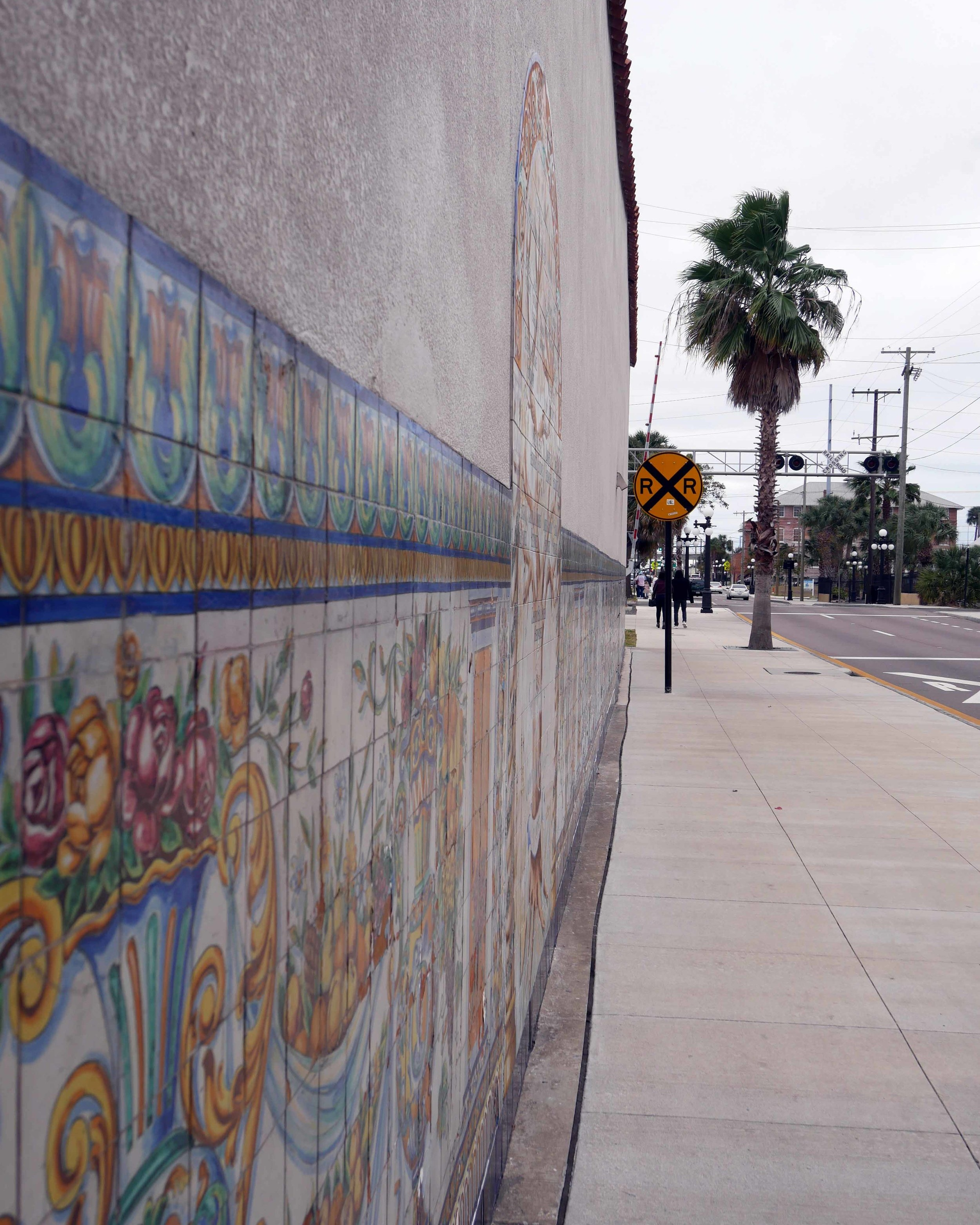 Strolling the streets of Ybor City, the city's historic district and one of the best places to visit in downtown Tampa