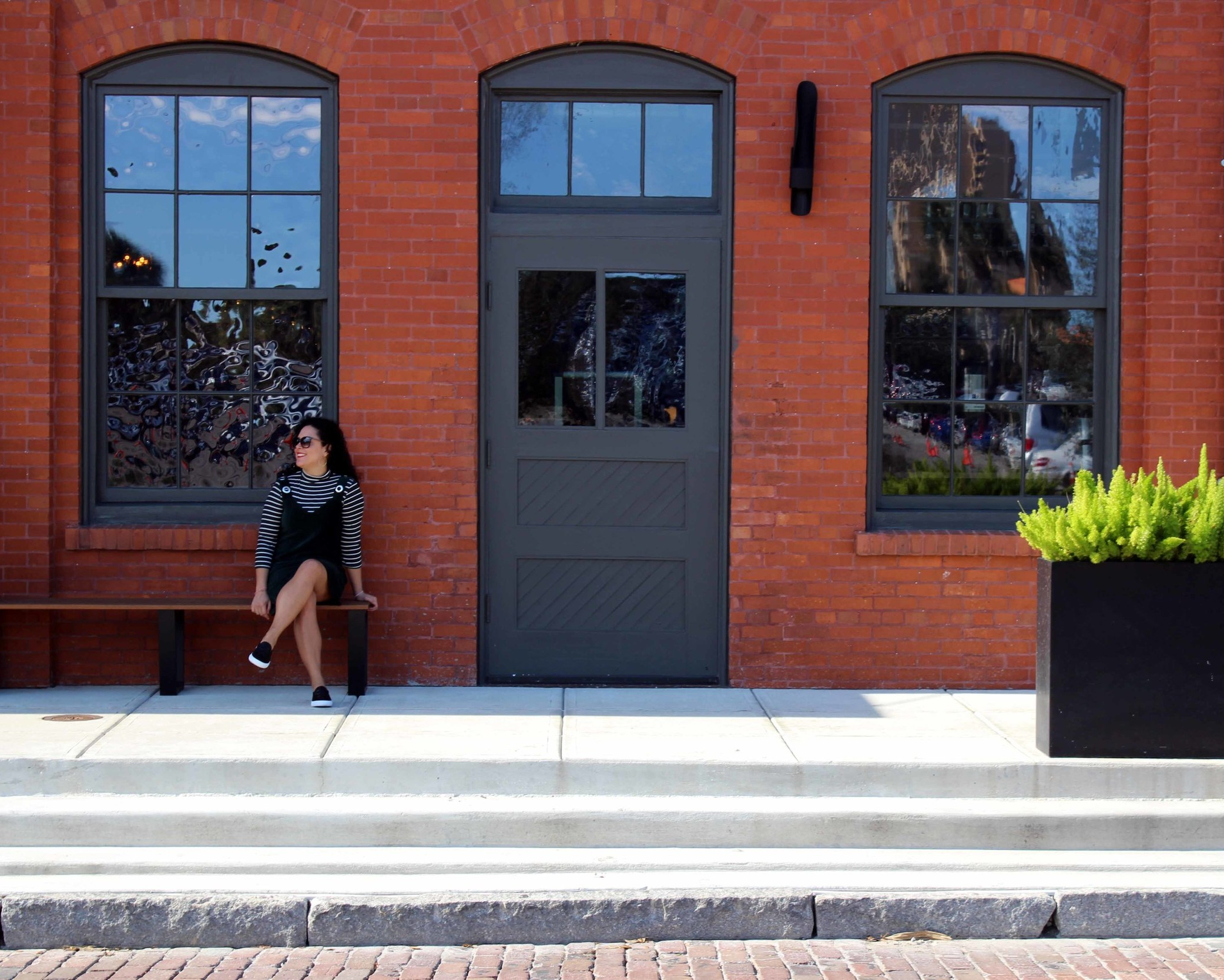 IG-posing in front of Armature Works, a former warehouse turned into a cool new Tampa foodhall
