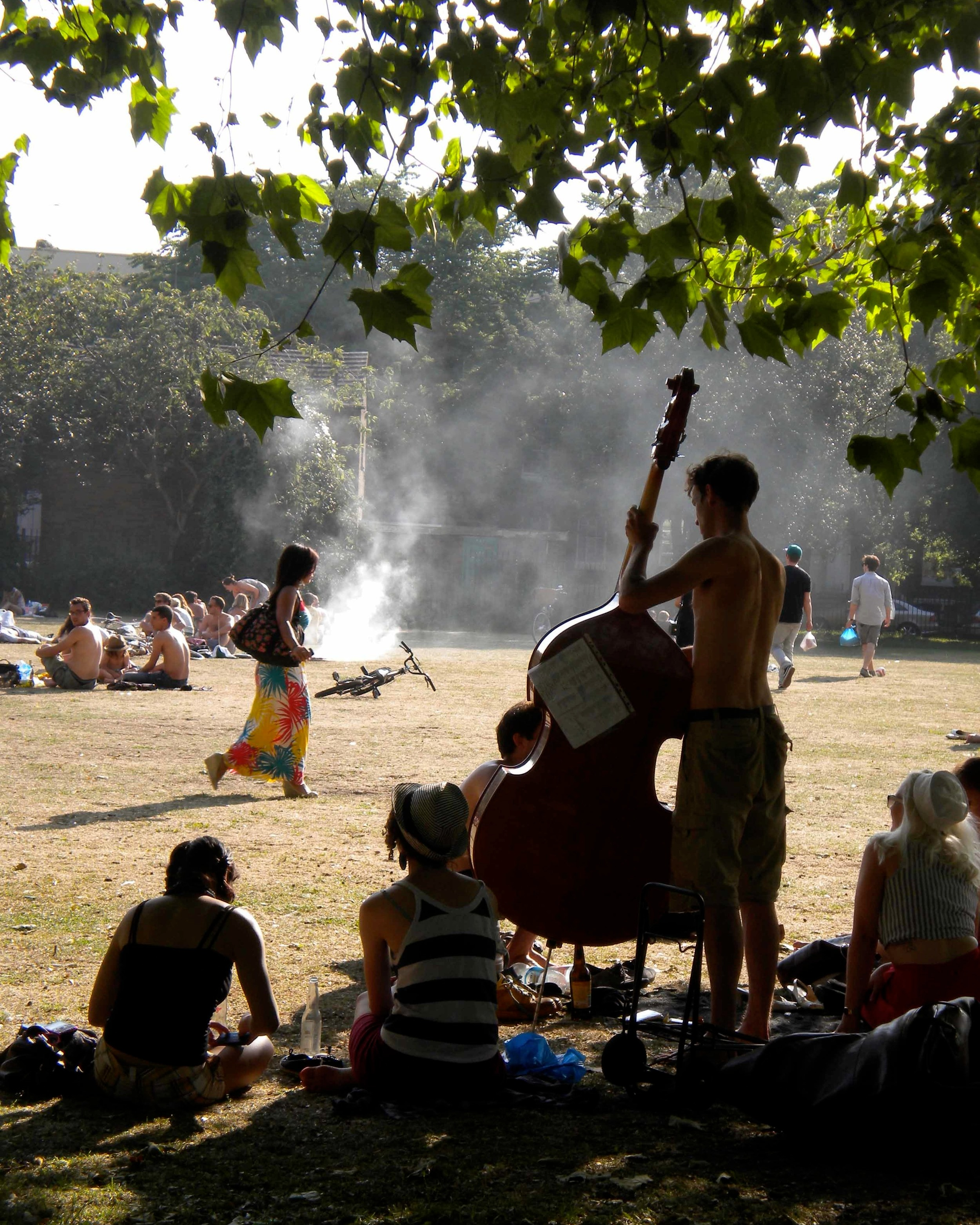 London's Lincoln Inn Fields, one of the best parks to visit in summer in London