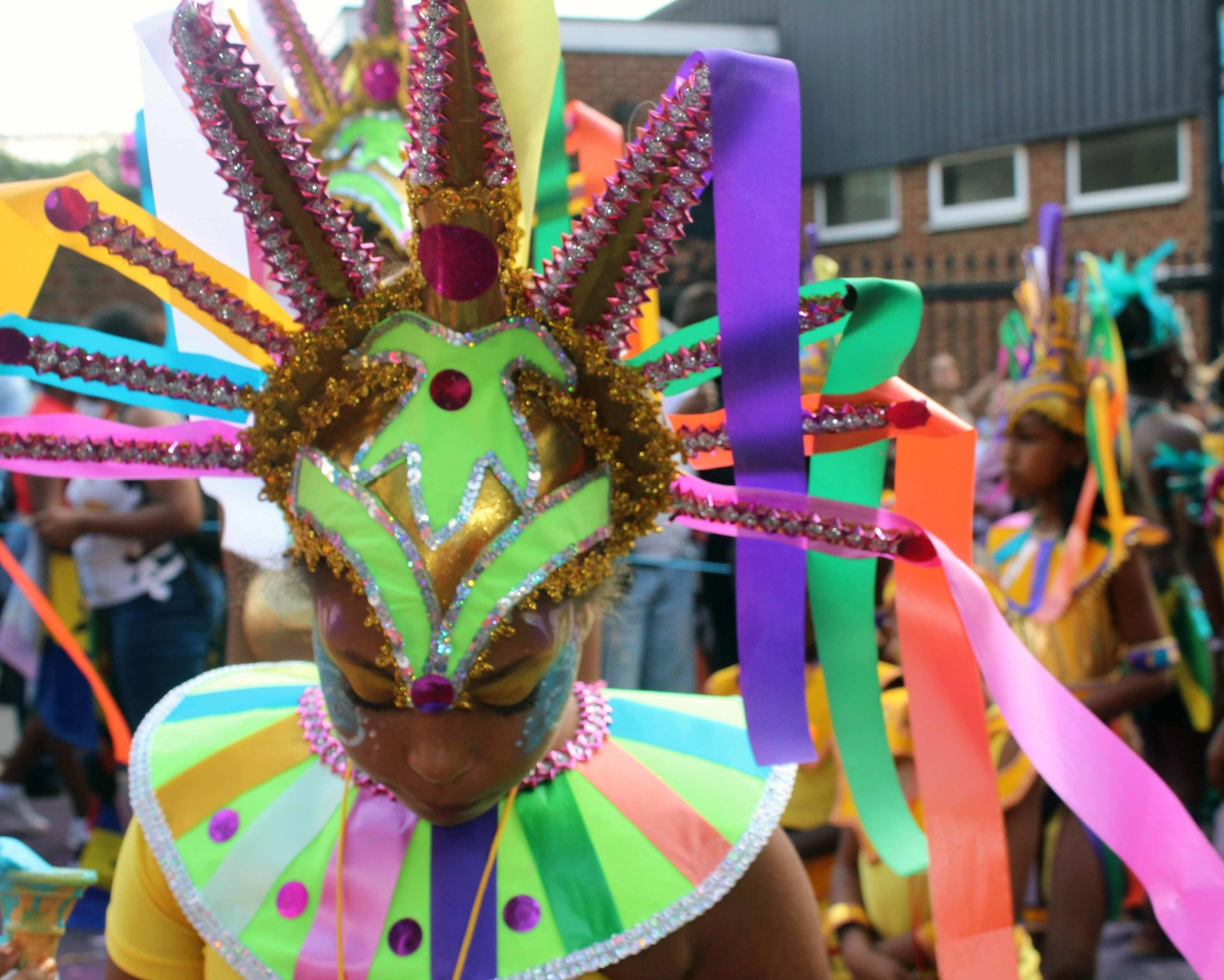 Nothing is more technicolour summer London than Notting Hill Carnival