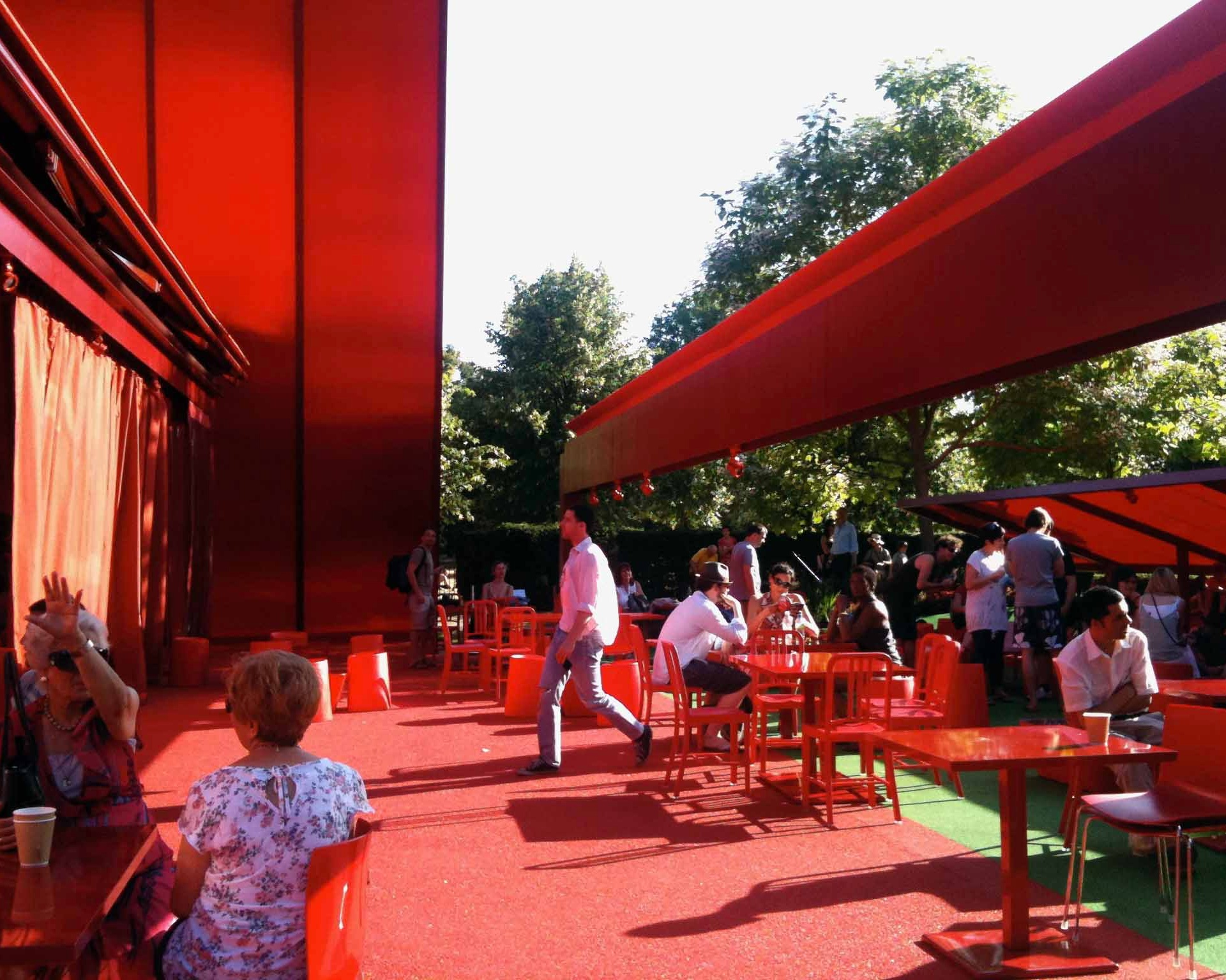 The Serpentine Pavilion, a summer staple in London's Hyde Park