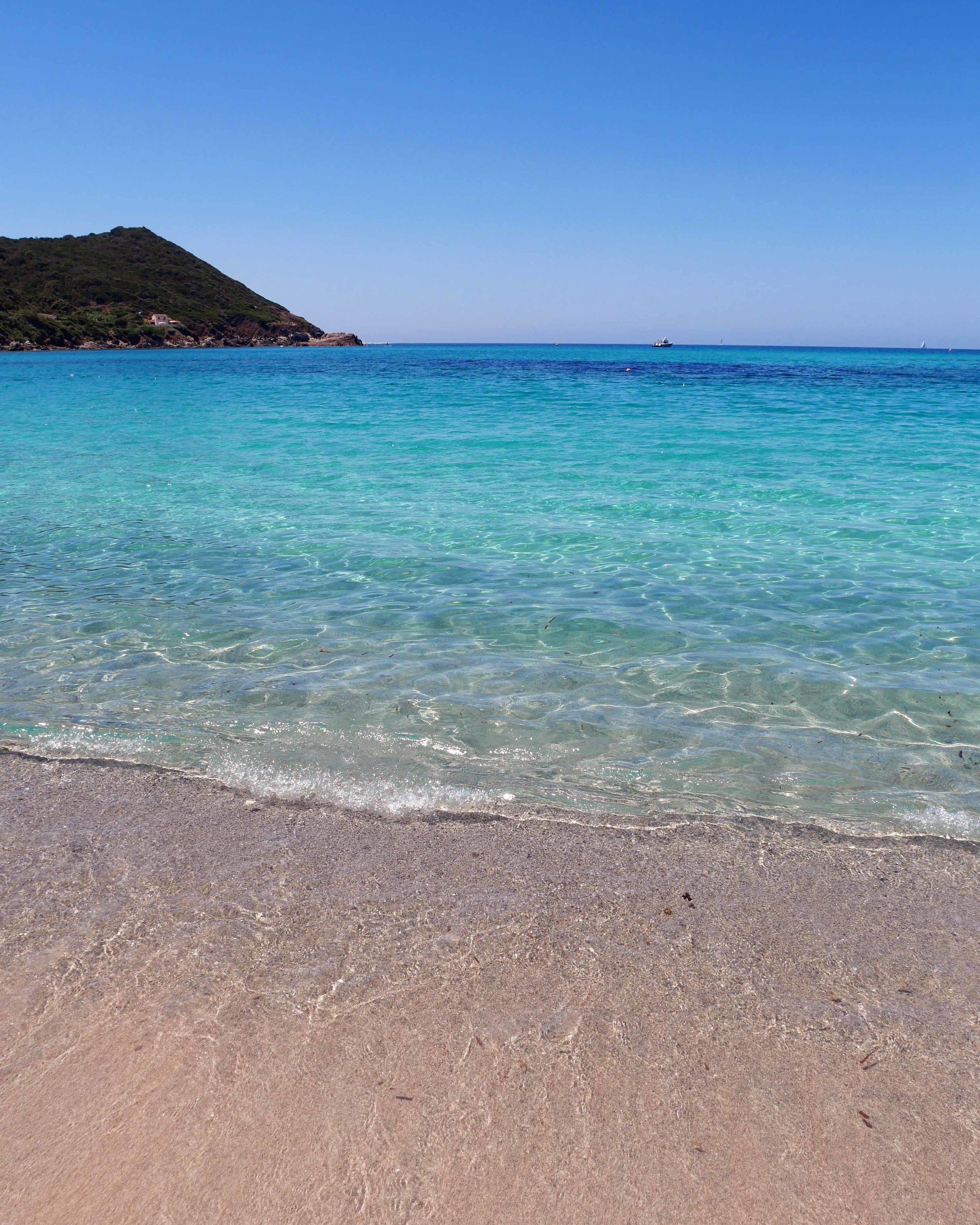 Little Capo, one of the best beaches in Corsica