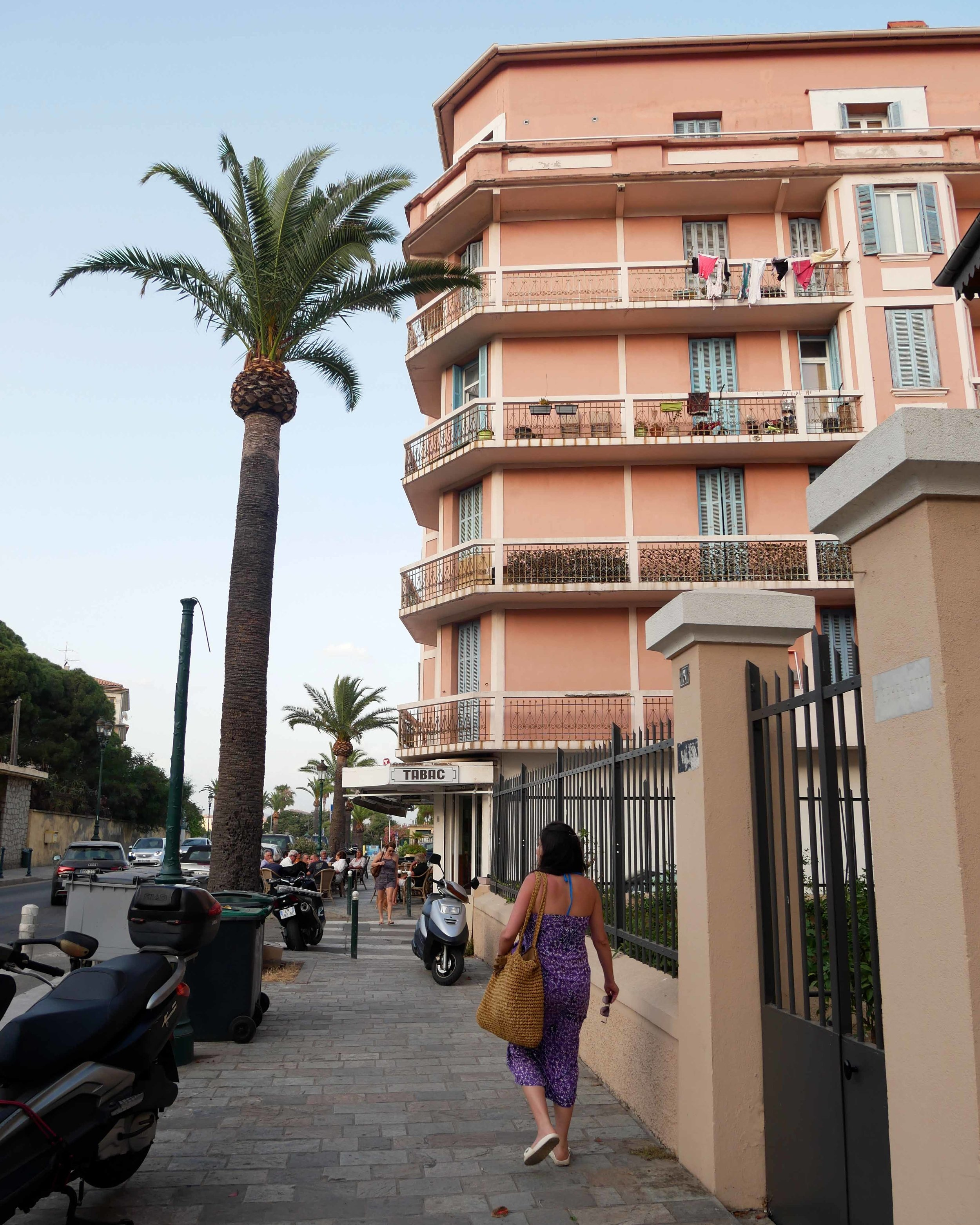 Strolling through the retro streets of Ajaccio