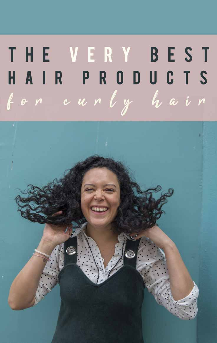 The Very Best Hair Products for Curly Hair