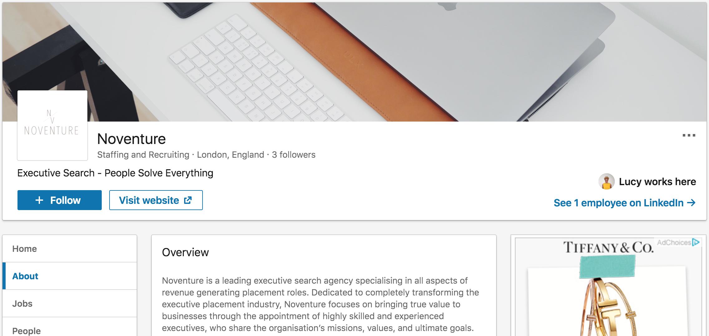 Noventure LinkedIn