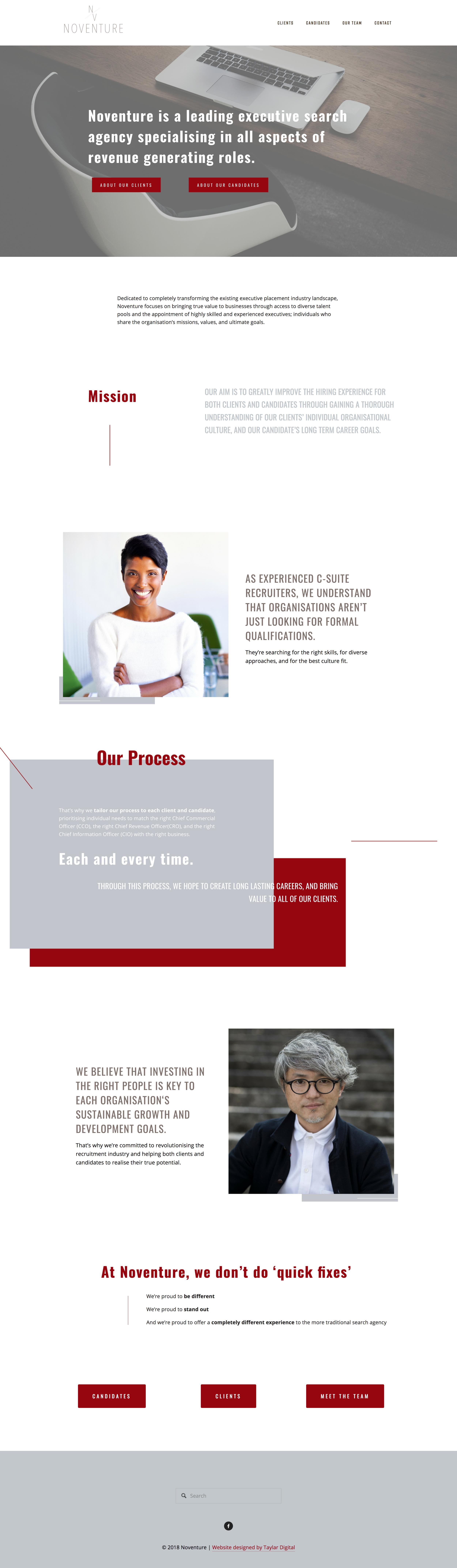 Noventure homepage.png