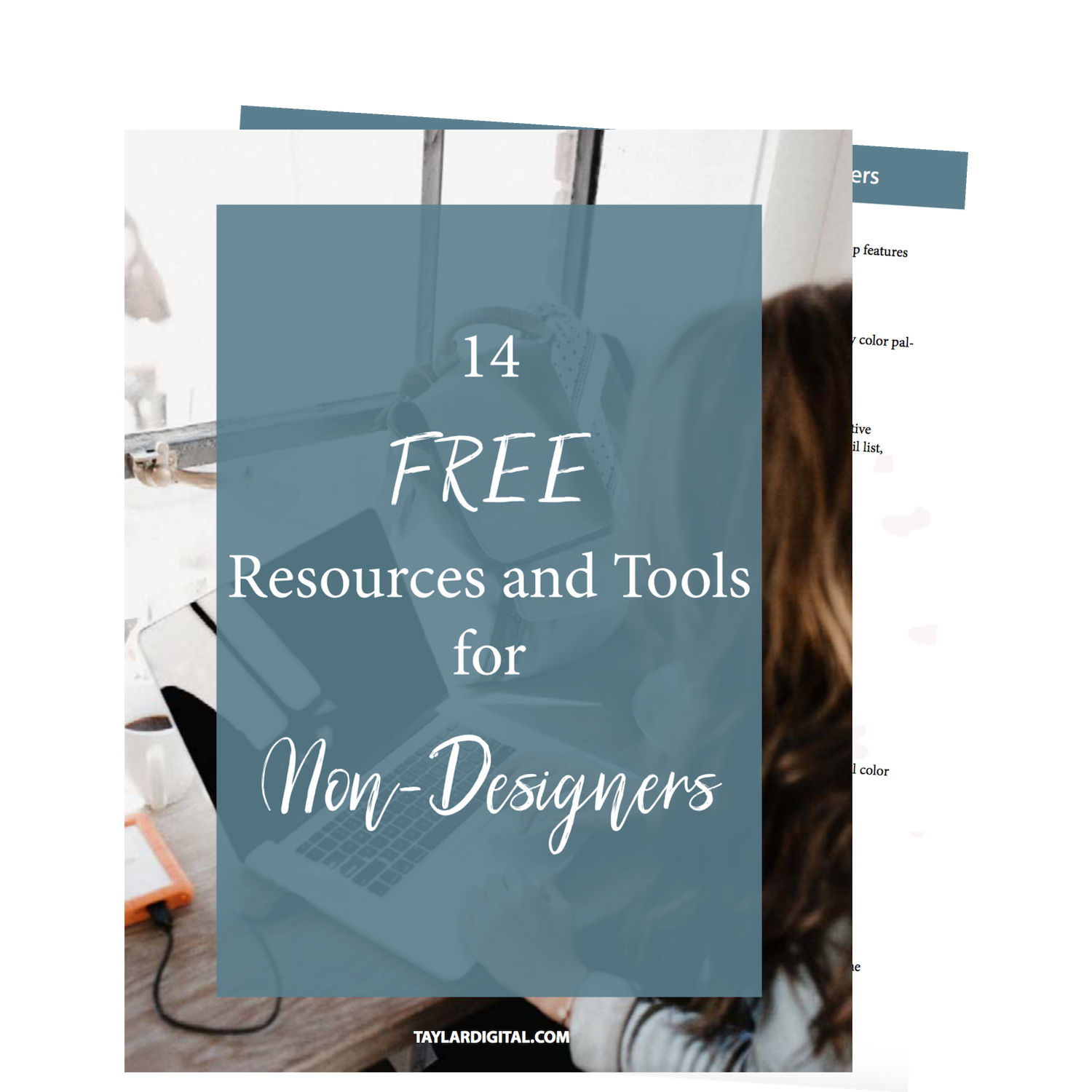 14 Free Design Tools - Get the list of my 14 favorite free resources and tools for design style inspiration, fonts, stock photos, and identifying color codes.