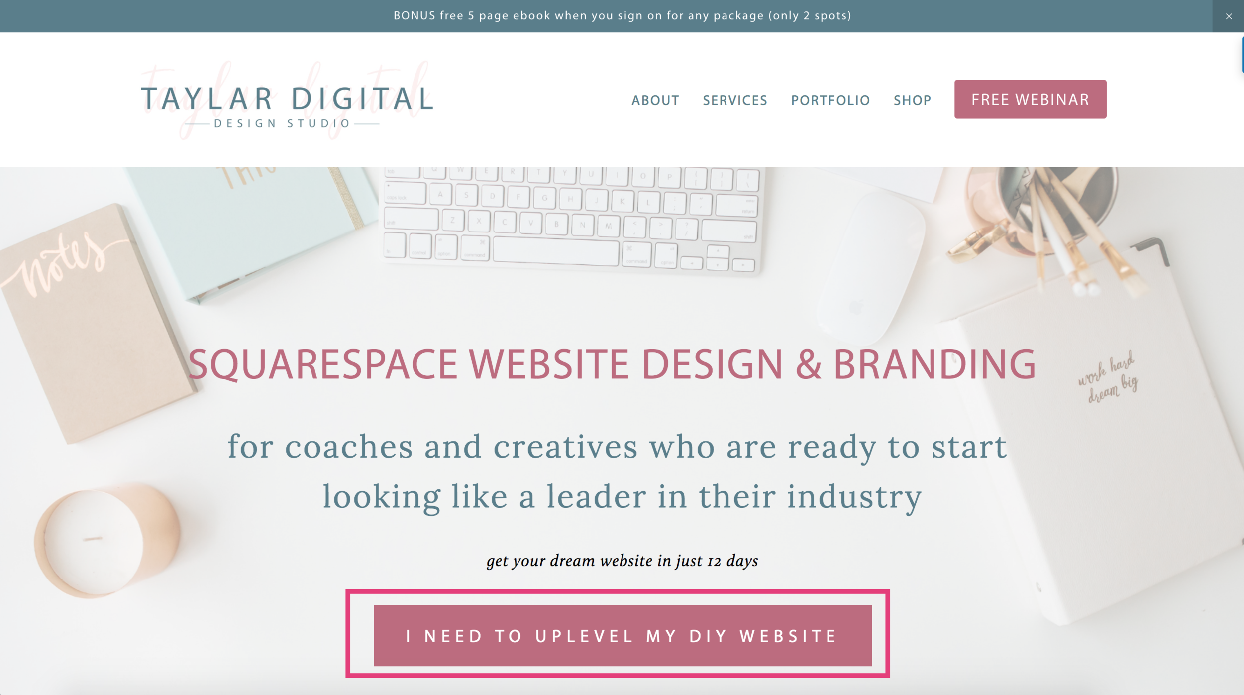 7 Places to Promote Your Freebie on Your Squarespace Website 3.png