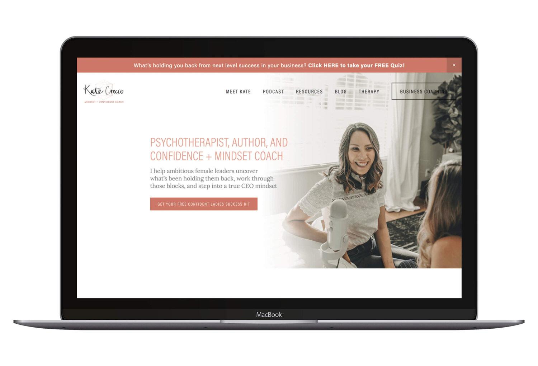 Portfolio Squarespace Website Design Lauren Taylar
