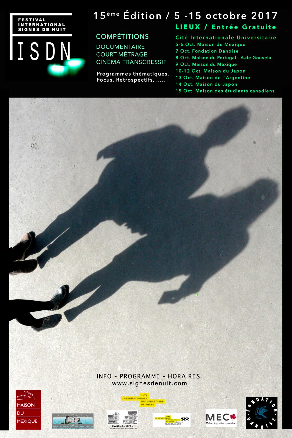 The Land Within  is an Official Selection in  Festival International Signes De Nuit ,  Paris, France.   Screening: October 9, 2017, 22:00 hr,  Maison du Mexique , Program - Transgressive Cinema #2  For full program:  http://www.signesdenuit.com/