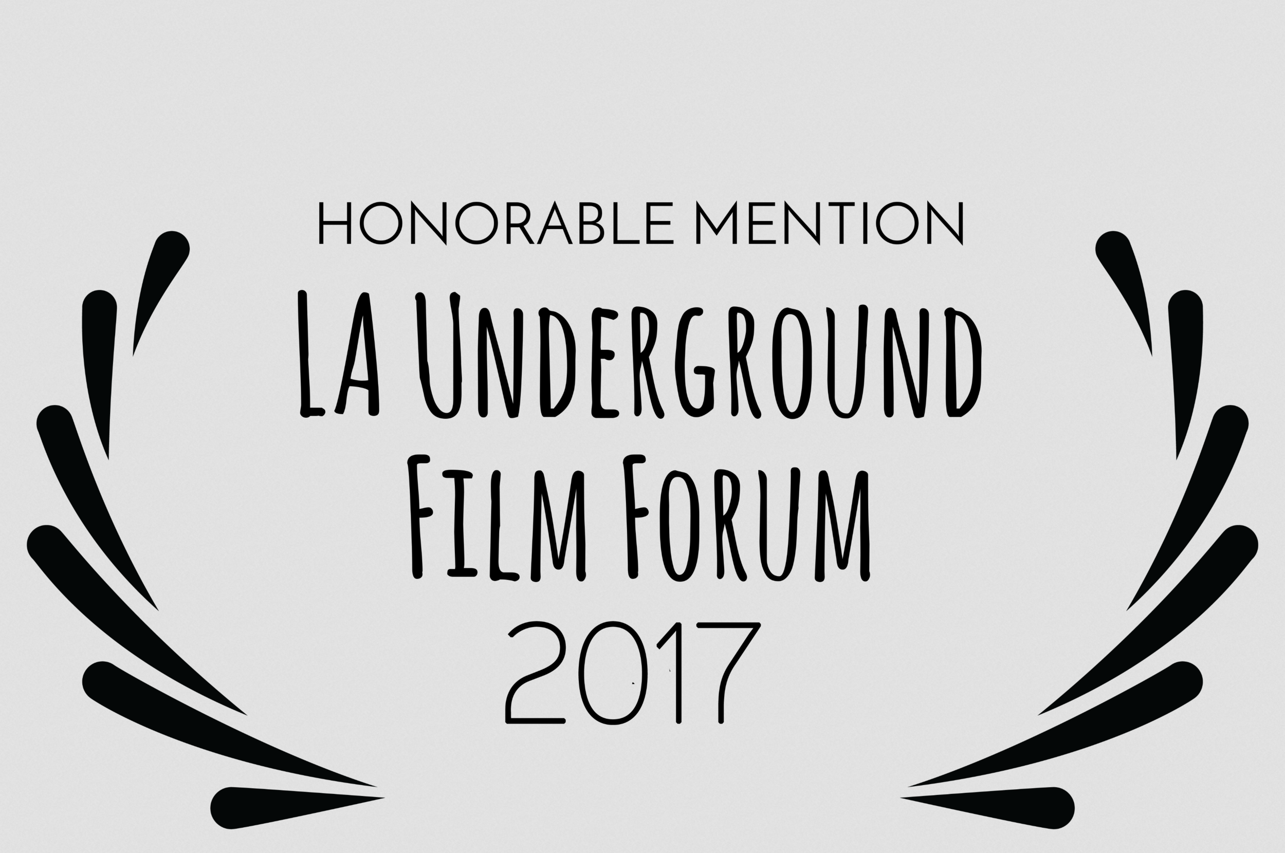 The Land Within  receives an Honorable Mention from Los Angeles Underground Film Forum.