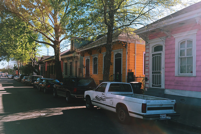 Marigny neighborhood.