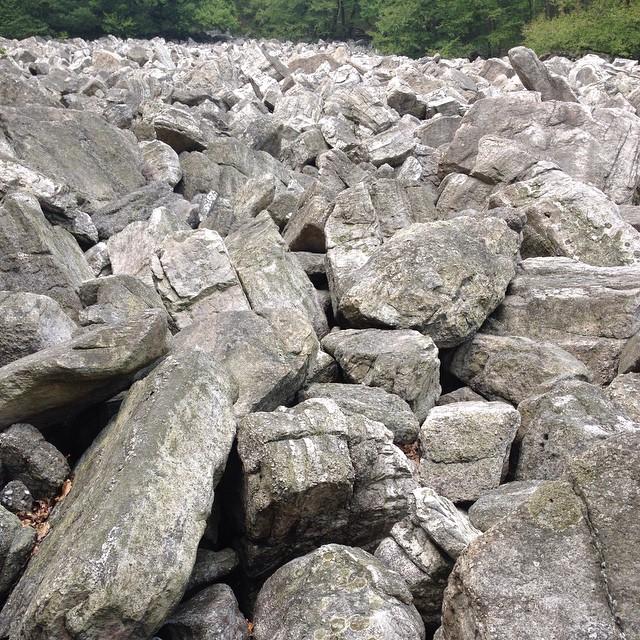 So. Many. Rocks.