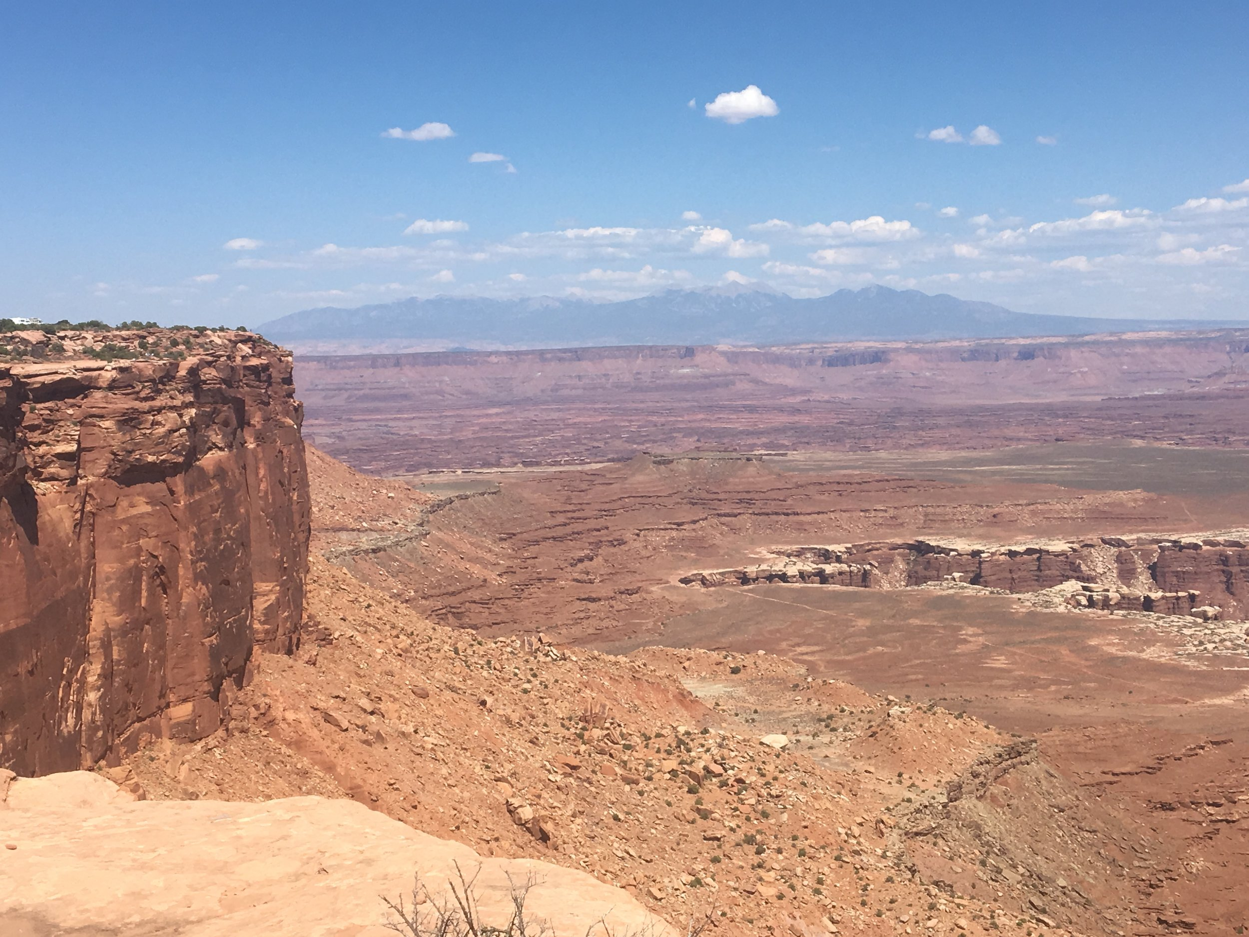 The vastness of Canyonlands.