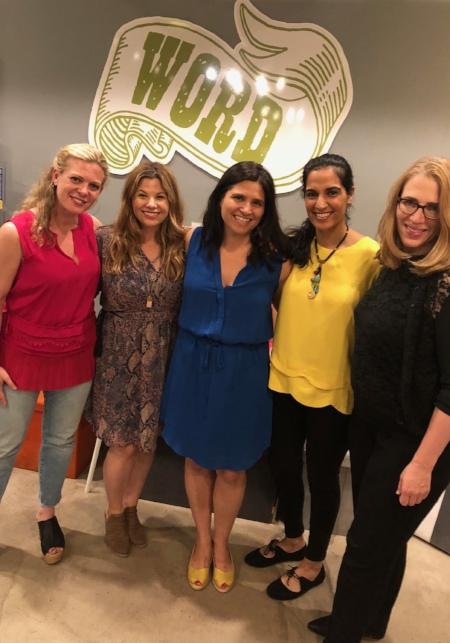 Mallory Kasdan,Rebecca Soffer, Nicole Savini, Sehreen Noor Ali, and Caroline Waxler