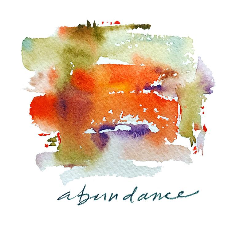 Abundance - Mini Meditation Frame