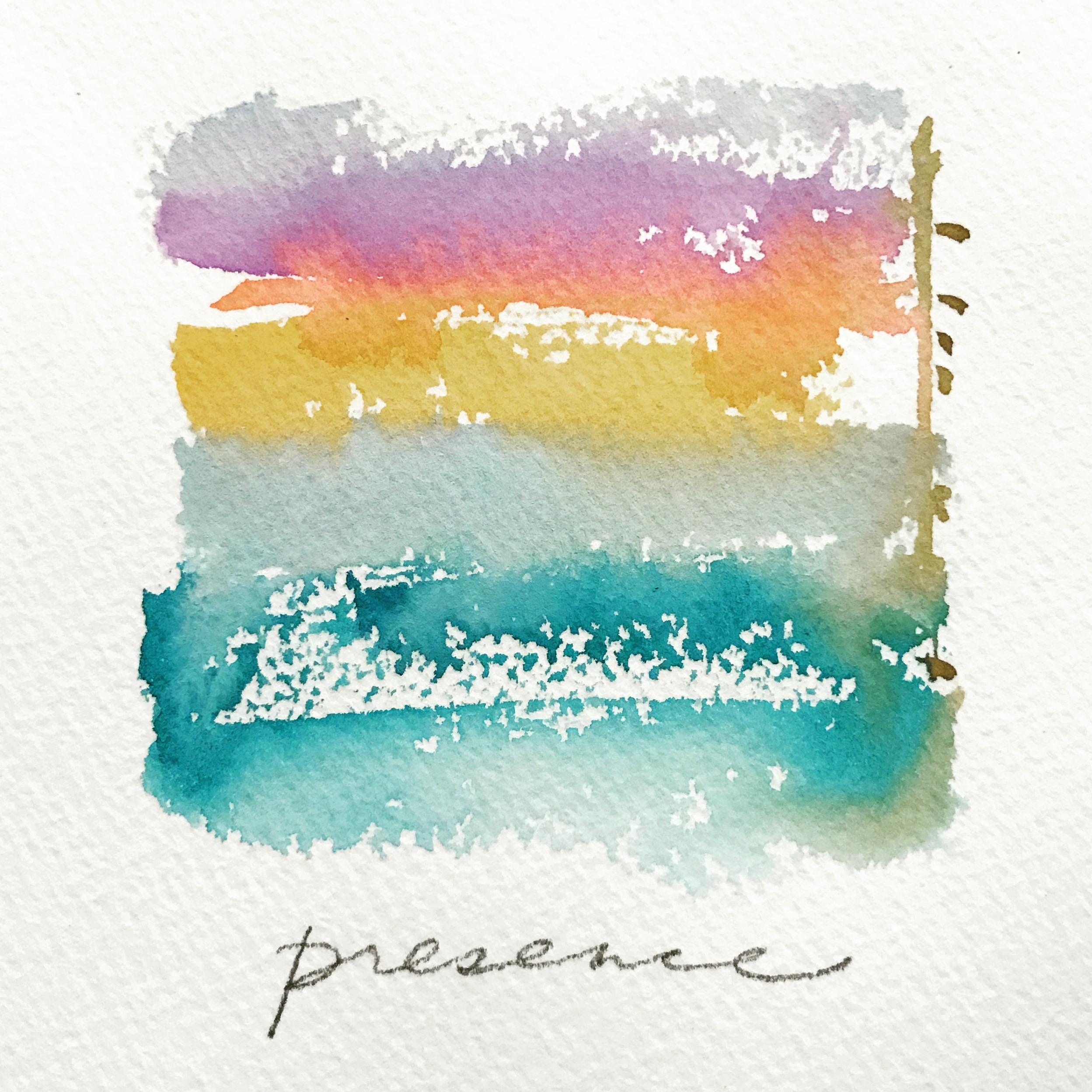 Presence, Mini Meditation Frame