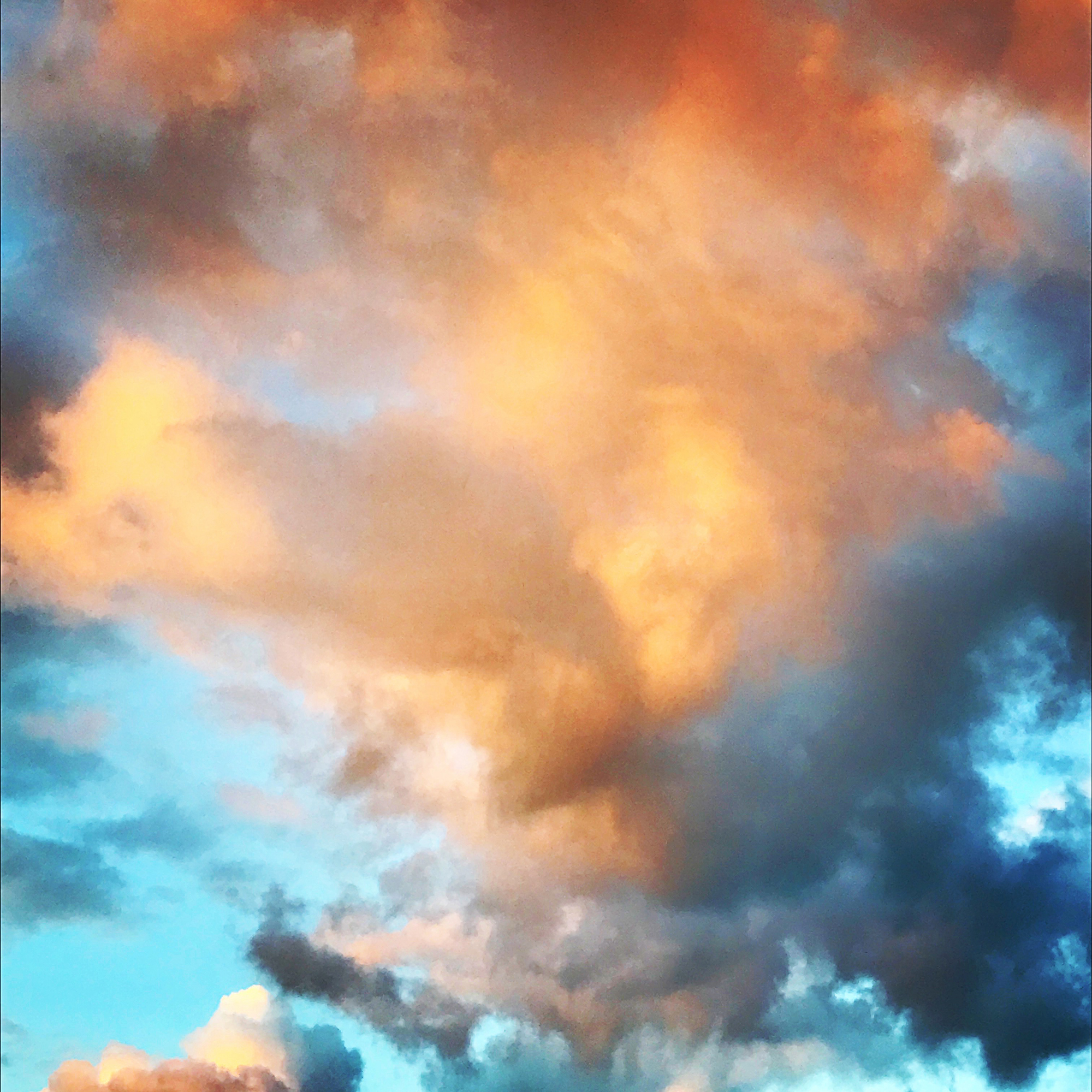 The sky from my backyard