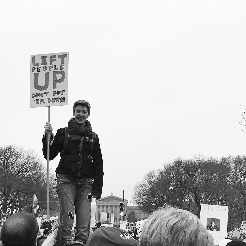 Women's March, Philadelphia, 1.22.17
