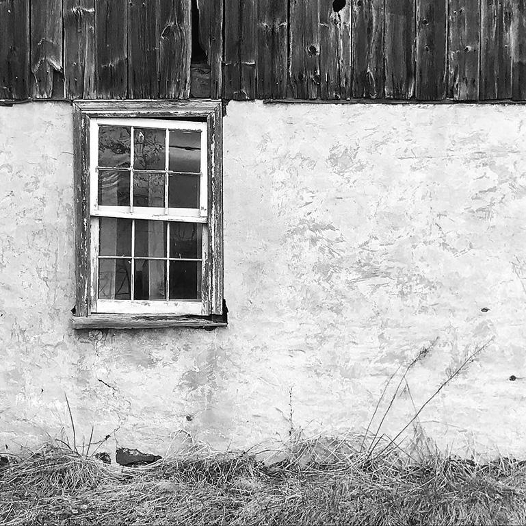 Wood, Window, Plaster, Grass