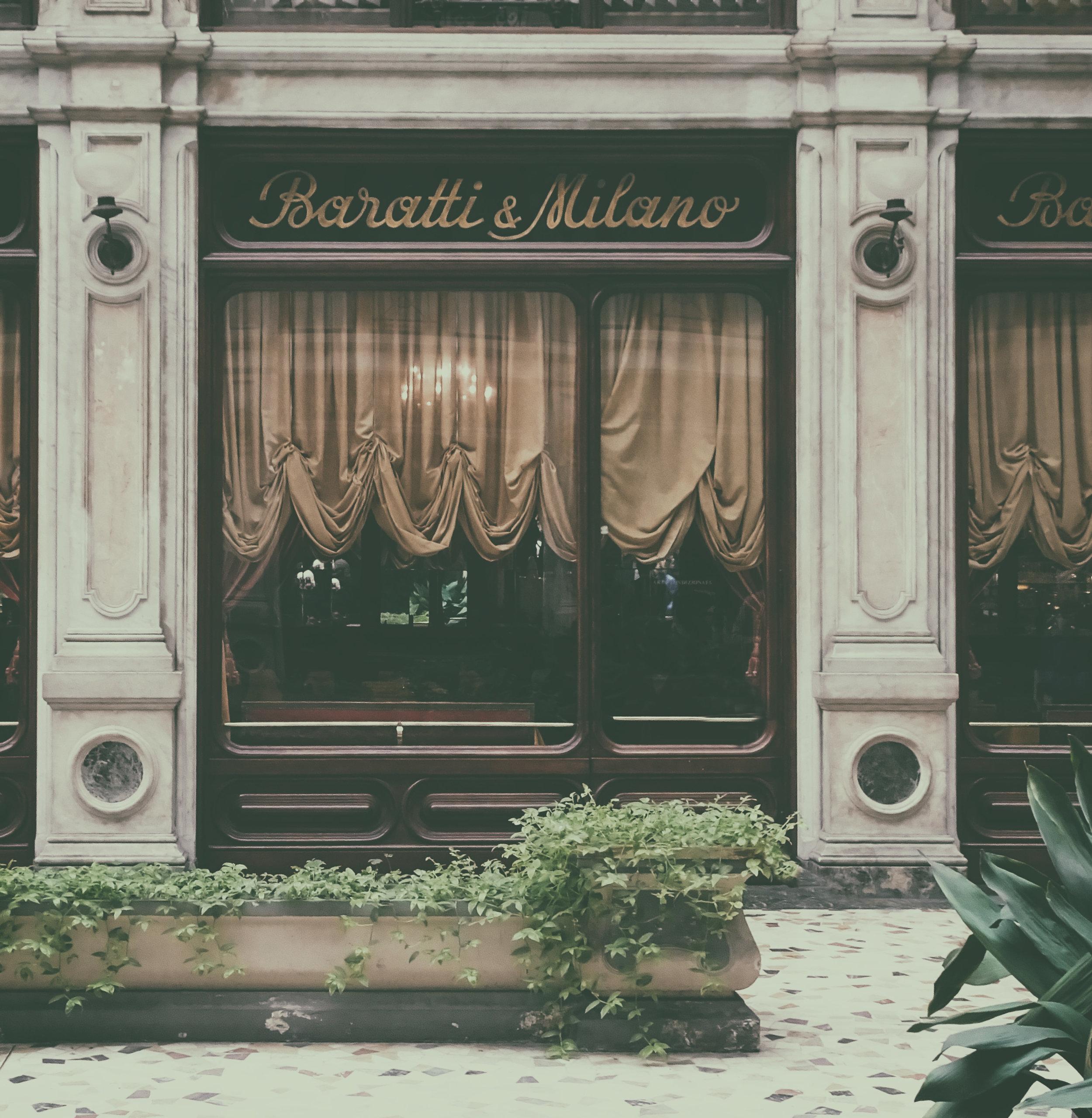 Baratti & Milano - Uma das melhores cafeterias onde tomar uma otima chocolata quente da cidade de Torino.