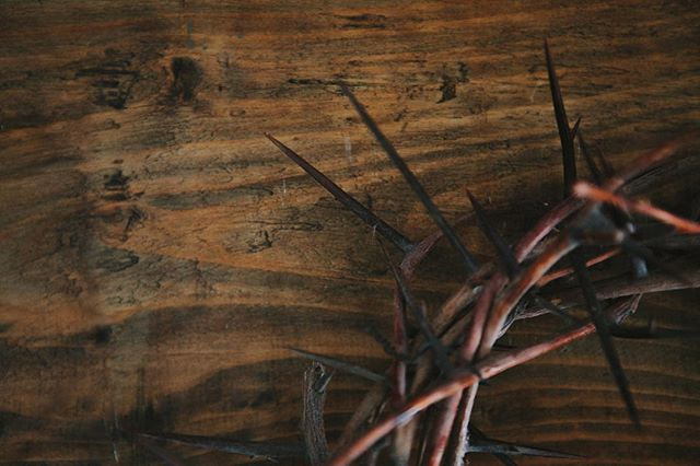 """The Crucifixion — John 19:17-30 A day that was anything but good. A day of darkness and pain. Torment and despair. Hopeless and hurting.  The crowd has exchanged """"Hosanna"""" for """"Crucify Him"""". The Son of God is being tortured by the son of men. But this is God's plan. From the beginning. Before the foundations of the world. For there is no way. On Good Friday, we see love on full display. Love that came to die for us. Love that endures all for the sake of all. So today, we celebrate as we mourn, for this dark day is the day light shown the brightest. Good Friday is a paradox — a day of death that brings life. A day of sadness that brings joy: a day of hopelessness that gives us hope. """"Behold the man upon a cross My son upon His shoulders Ashamed, I hear my mocking voice Call out among the scoffers It was my sin that held Him there Until it was accomplished His dying breath had brought me life I know that it is finished"""" -How Deep the Father's Love for Us"""