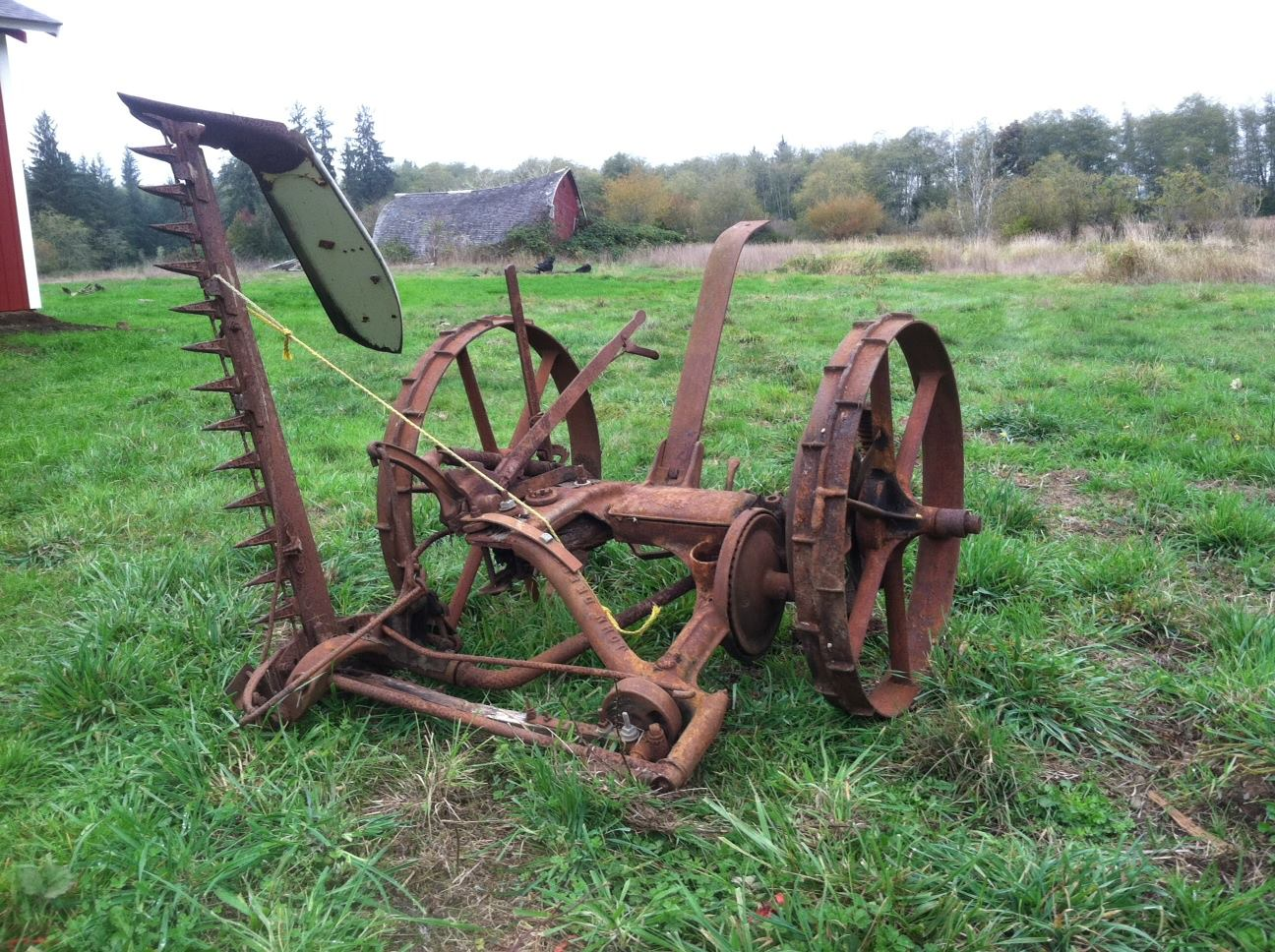 Old farm equipment for the McCorrmick