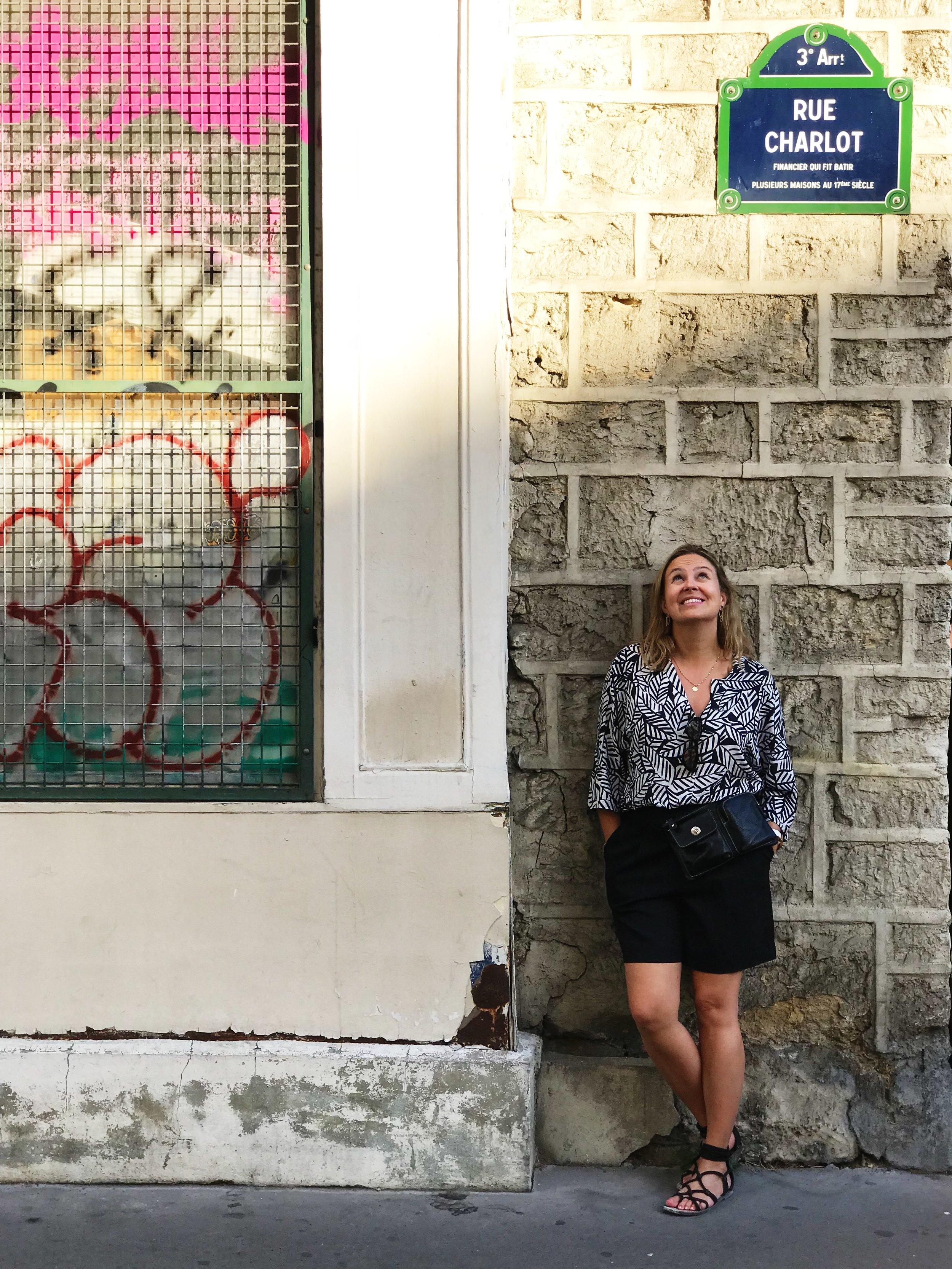 Frenchologie Cecile Charlot Le Marais Paris France