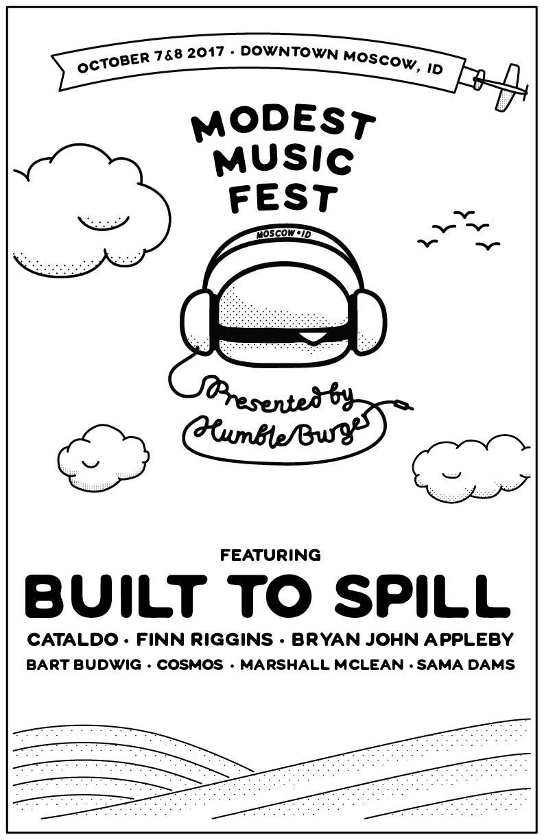 Modest Music Fest Web Poster