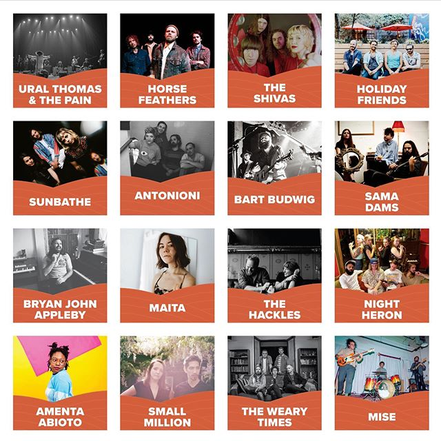This is just a portion of the amazing bands playing Modest Music Fest 2019! We're hosting over 40 artists in 5 different venues over 2 days in Downtown Moscow, ID and you can catch all of it for $30. Order your wristbands and check out the full lineup available at humbleburger.com or at the link in our bio! . . . #humbleburger #modfest2019 #modestmusicfest2019 #diymusic #livemusic #indiemusic #moscowidaho #moscowid