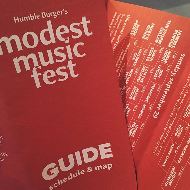 Final schedule posted. Follow the link in our bio or head over to our Facebook for more info! We can't wait for this thing to start. . . . #humbleburger #modfest2019 #modestmusicfest #moscowidaho #moscowid #diyfest #indiefest #musicfestival