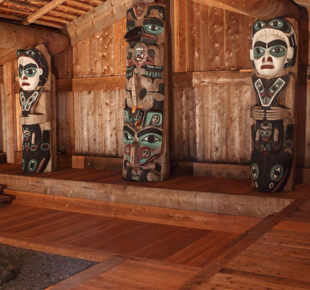 Kasaan Whale House Chief Son-I-Hat Longhouse Alaska