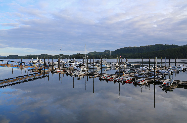 Thorne Bay Alaska harbor