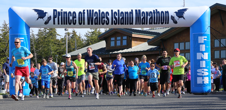 Prince of Wales Island Marathon in Craig Alaska