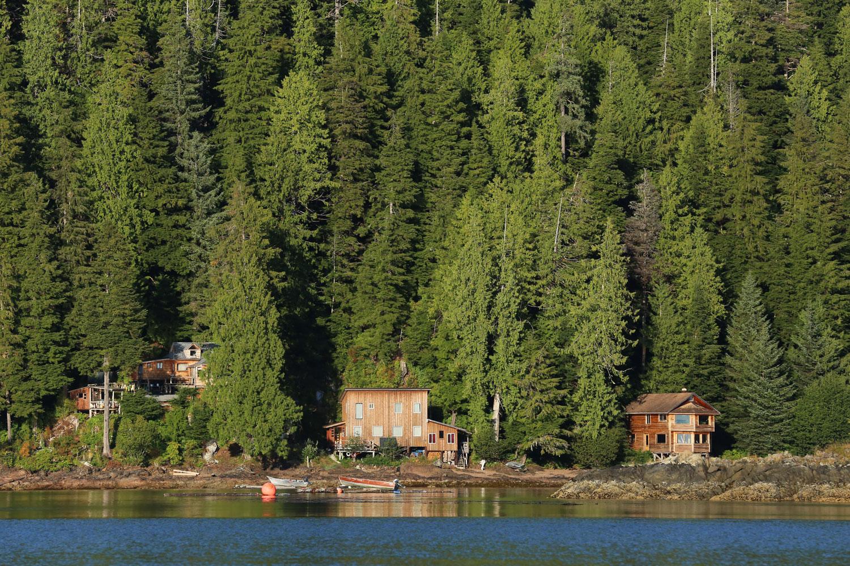 Houses in Port Protection Alaska