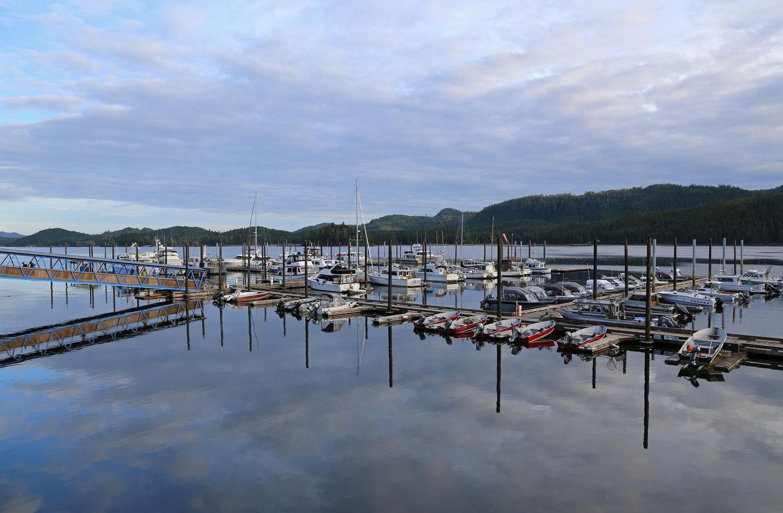 Thorne Bay's Main Harbor