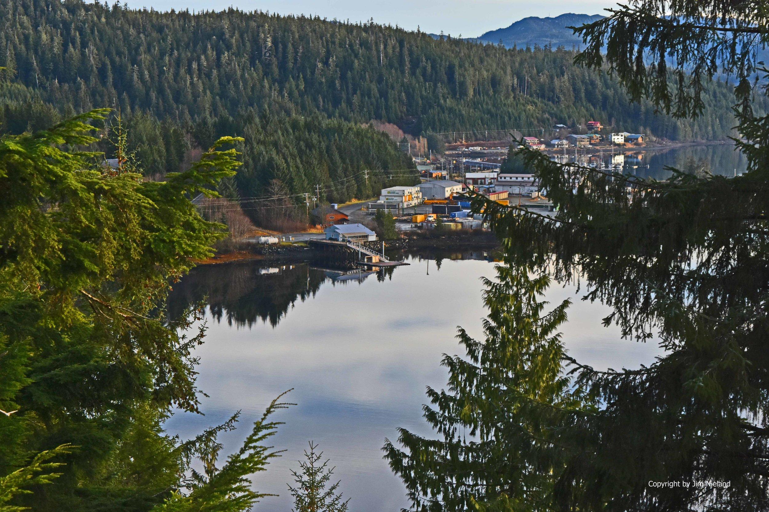 Travel and visit Thorne Bay Alaska on Prince of Wales Island