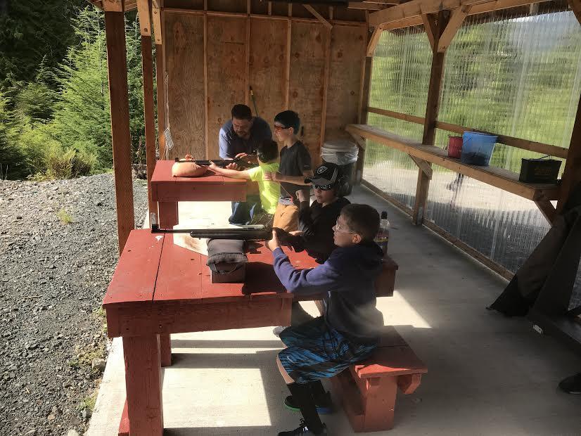 POW Shooters Club Labor Day Shoot on Prince of Wales Island Alaska